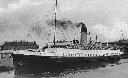 Nomadic as she appeared in 1911